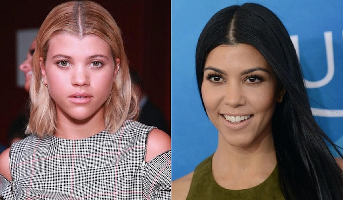 Sofia Richie & Kourtney Kardashian Are Connected In A Crazy Amount Of Ways