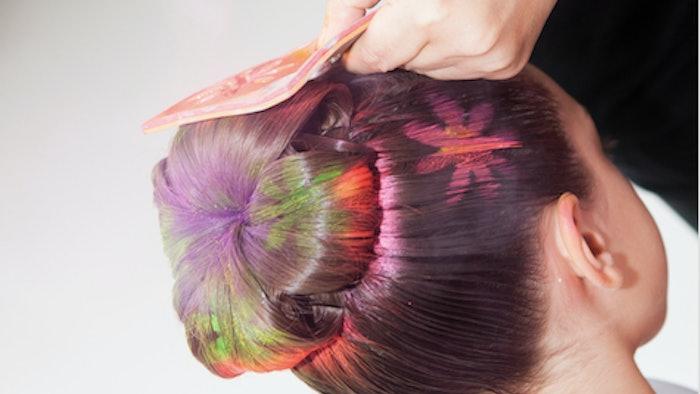 Temporary Hair Color For Halloween