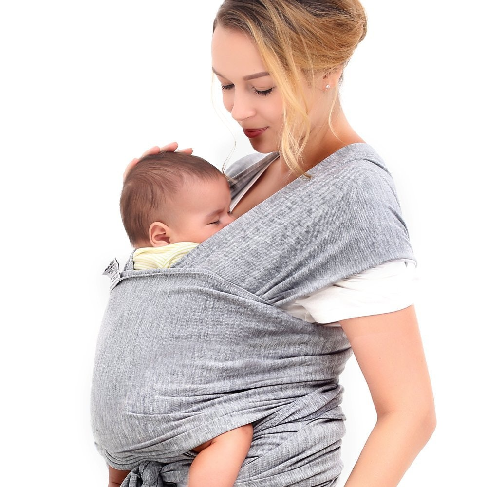 RY62 Soft Ring Sling Baby Carrier Pouch Wrap Newborn to Toddler Nursing Carrier