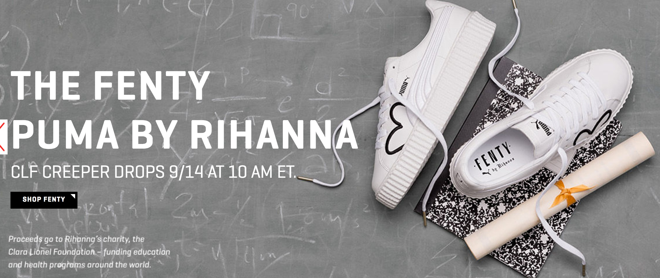 finest selection 1ddb1 59800 When Can You Buy Rihanna x Puma White Leather Creepers? The ...