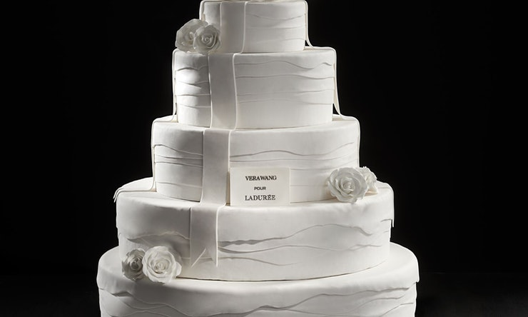 The Vera Wang Designed Wedding Cakes At Laduree Are Too Pretty To Eat