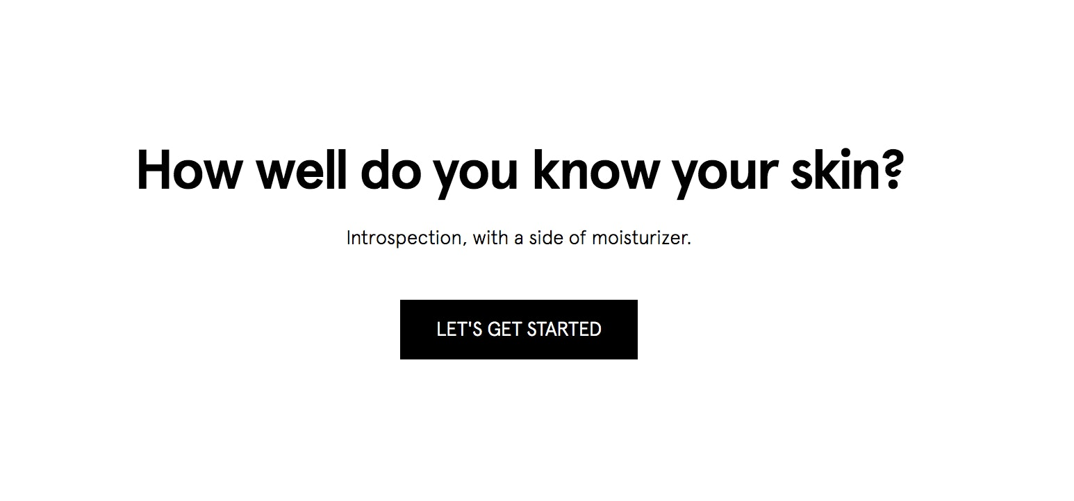 Glossier's Skin Care Quiz Will Help You Unlock Important