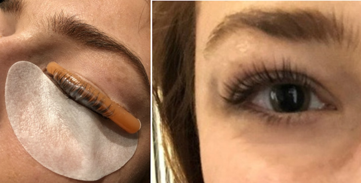 What Is A Keratin Lash Lift The Quot Perm For Your Lashes Quot Is
