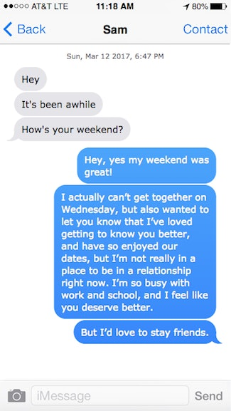 I Broke Up With Someone Over Text & It Wound Up Stretching Out For