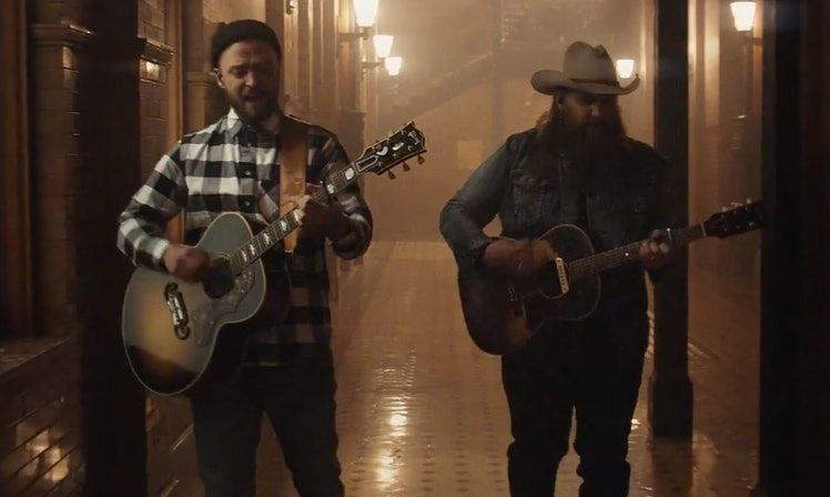 Justin timberlake 39 s say something lyrics with chis for Songs chris stapleton wrote for others