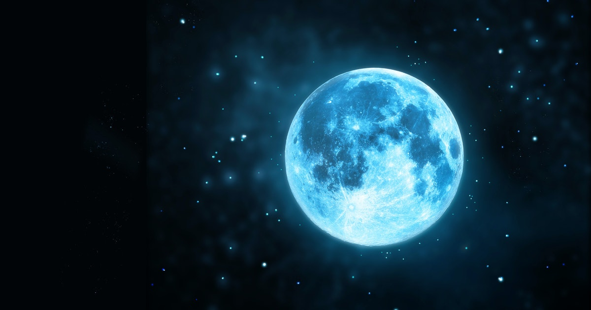 What's A Blue Moon? 7 Cool Facts About This Rare Lunar ...