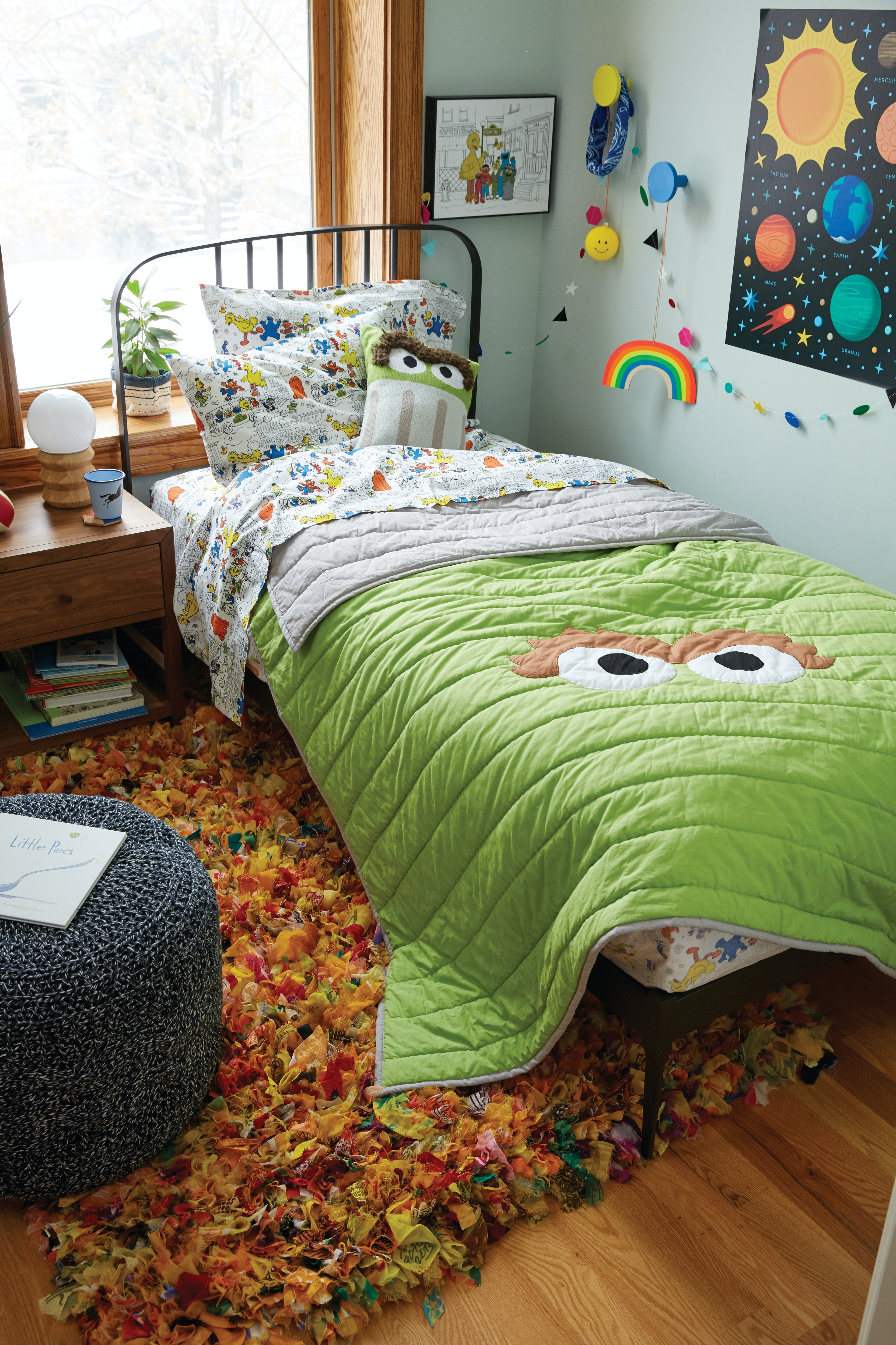 The Sesame Street X Land Nod Collection Is Here Its Good