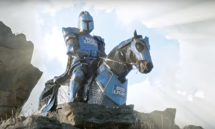 Who plays the bud knight the voice behind this bud light who plays the bud knight the voice behind this bud light character is a true mystery mozeypictures Gallery