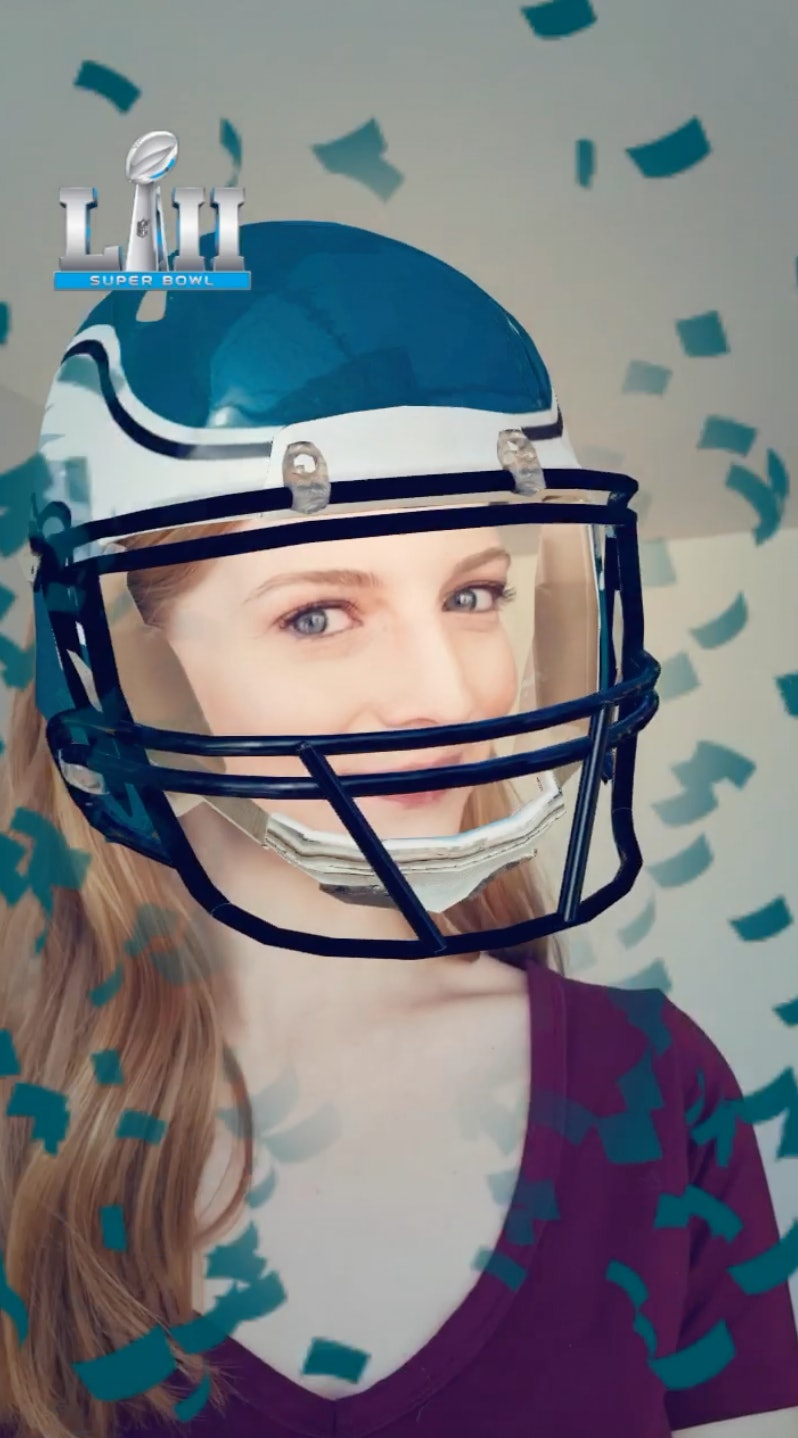 Snapchat's Super Bowl Filters & Face Lenses Will Make You