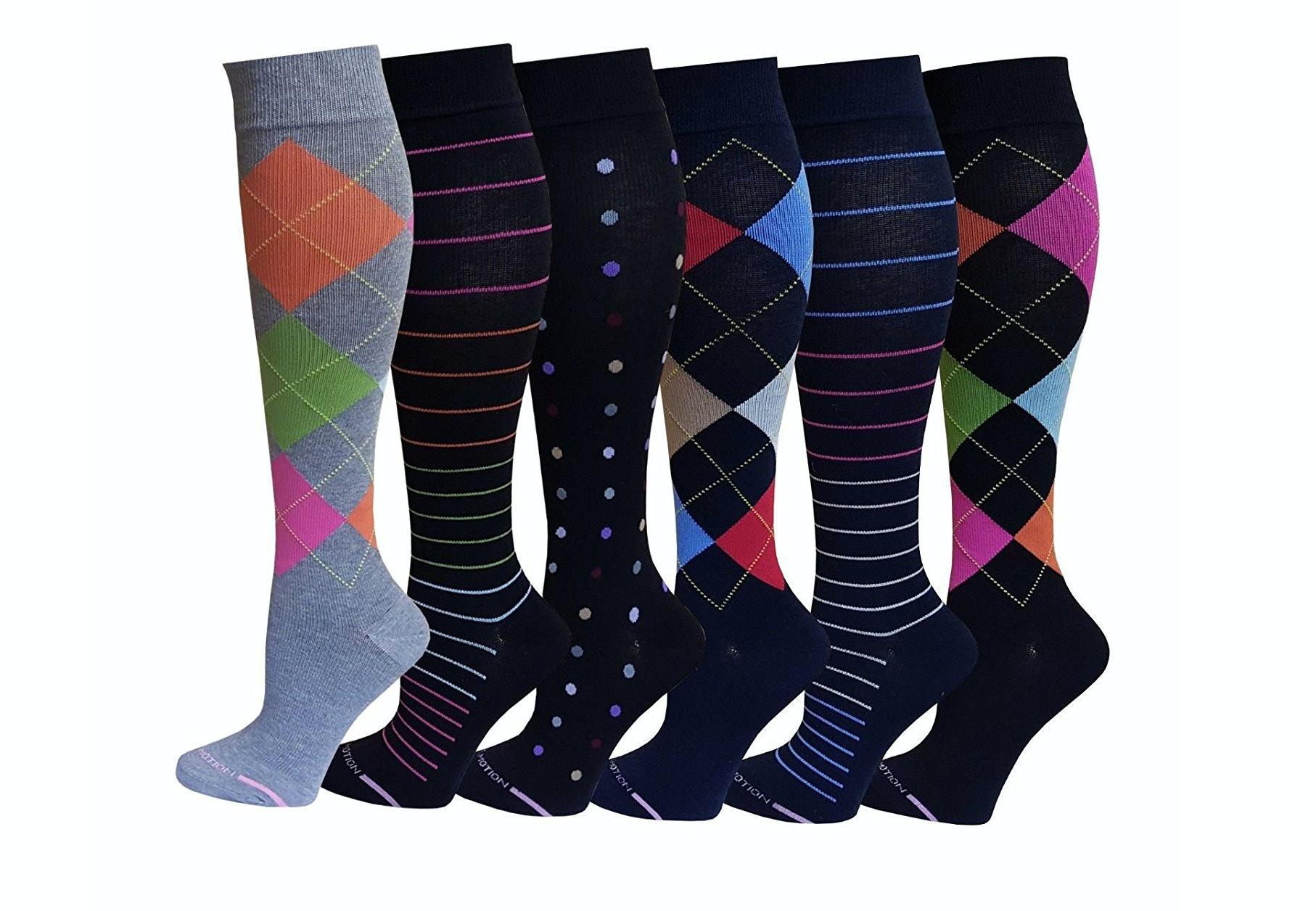 Patterned Compression Socks Magnificent Design Inspiration