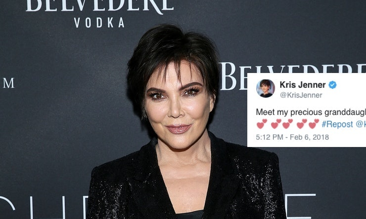 Kris Jenner is excited to welcome Kylie Jenner's daughter Stormi