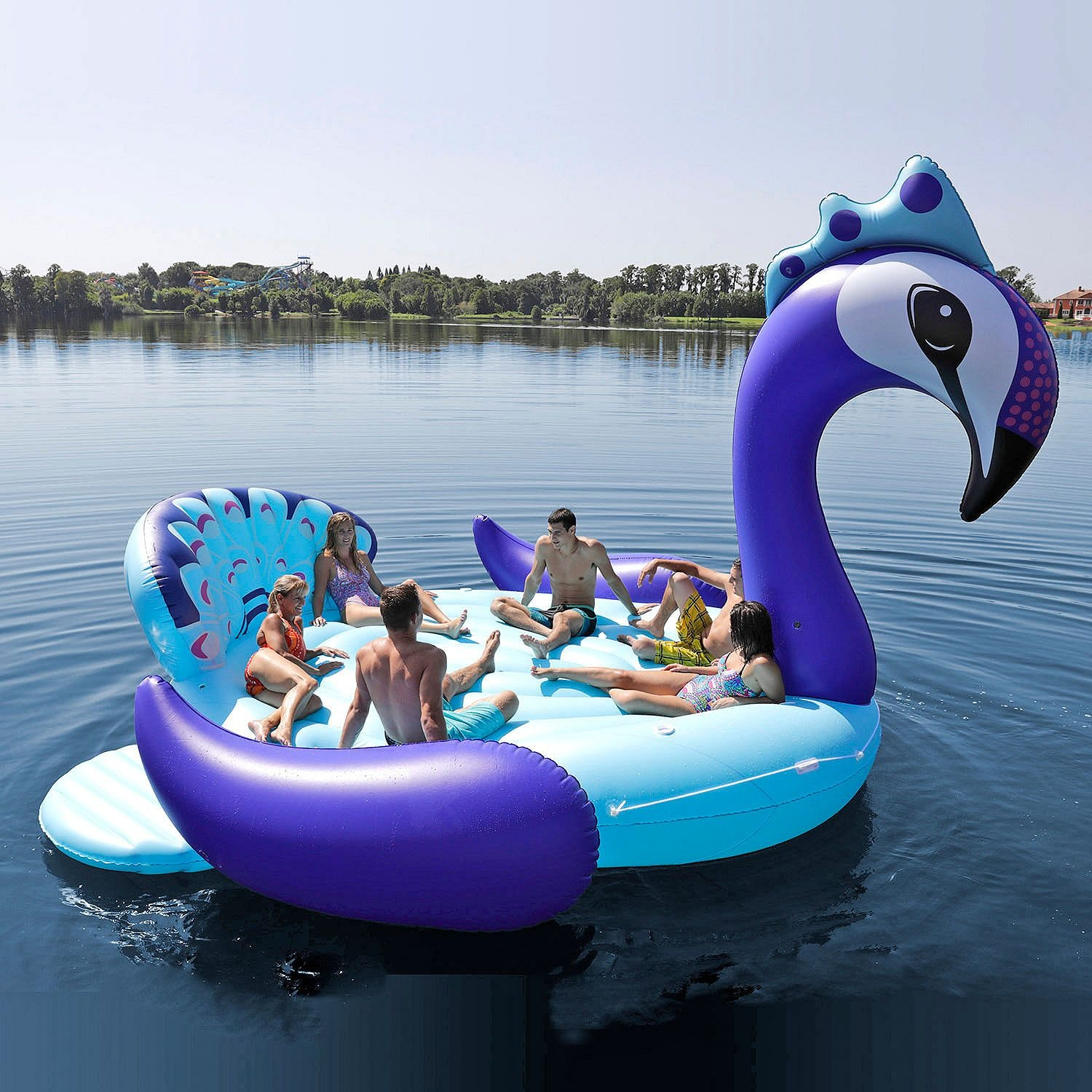 How Much Do Sams Party Bird Island Pool Floats Cost Not A Lot If You Split It