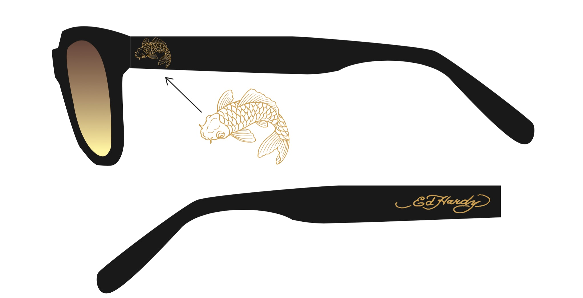 080e9a198e Ed Hardy Sunglasses Exist   Your Inner 2000s Kid Will Be Stoked On These  Shades