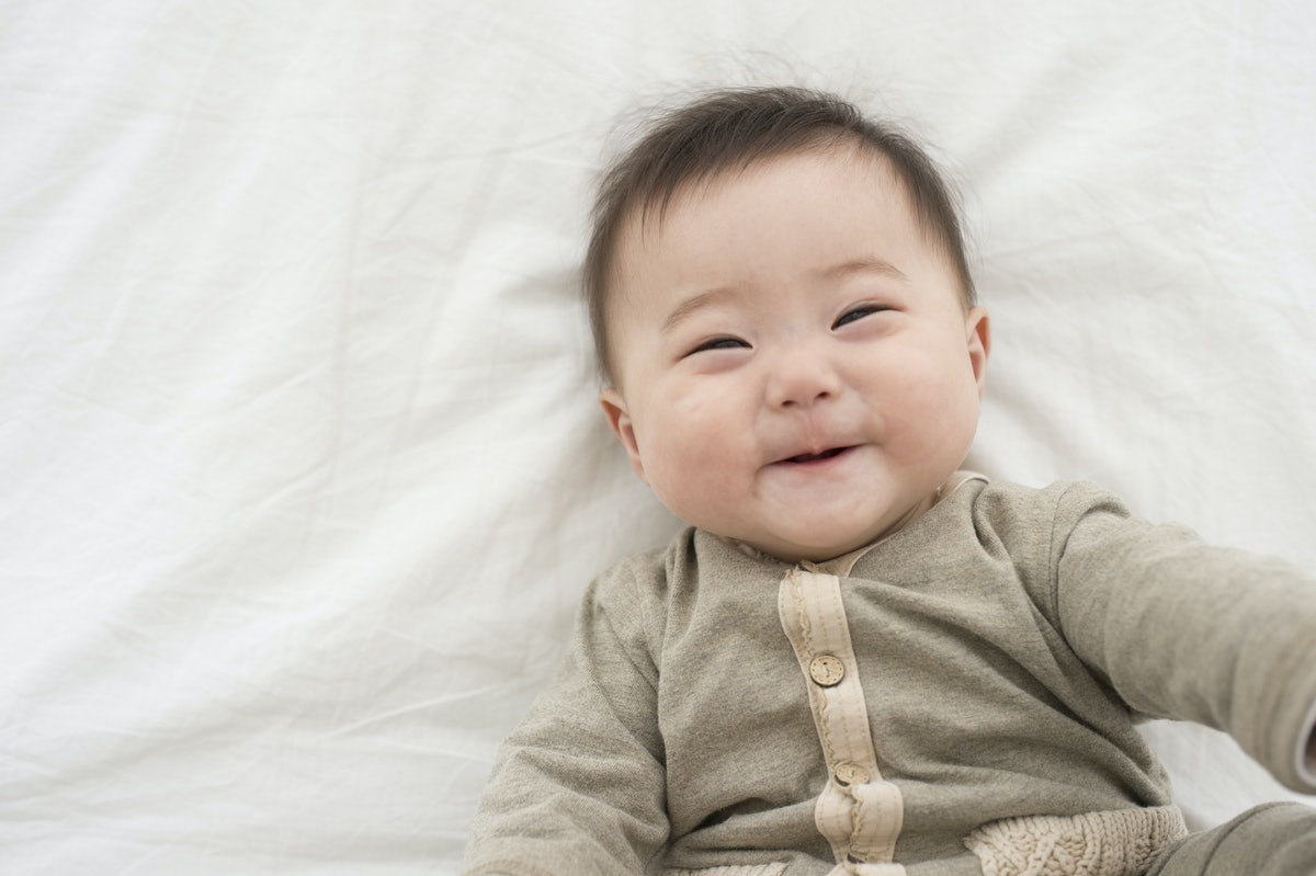 Does Your Baby Smile A Lot? There's More To It Than Happiness Newborn Babies Smiling