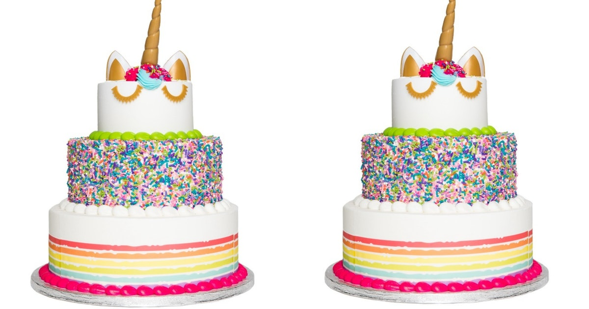 This 3 Tier Unicorn Cake At Sam S Club Costs Less Than 70