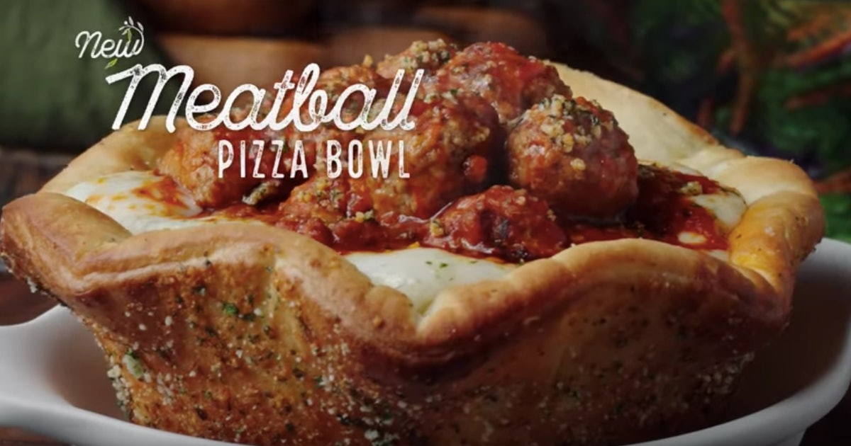 When Can You Order Olive Garden 39 S Meatball Pizza Bowl It 39 S Only Available At Certain Times