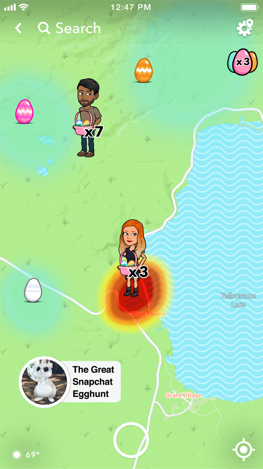 How To Find Easter Eggs On Snap Map During Snapchat's Egg
