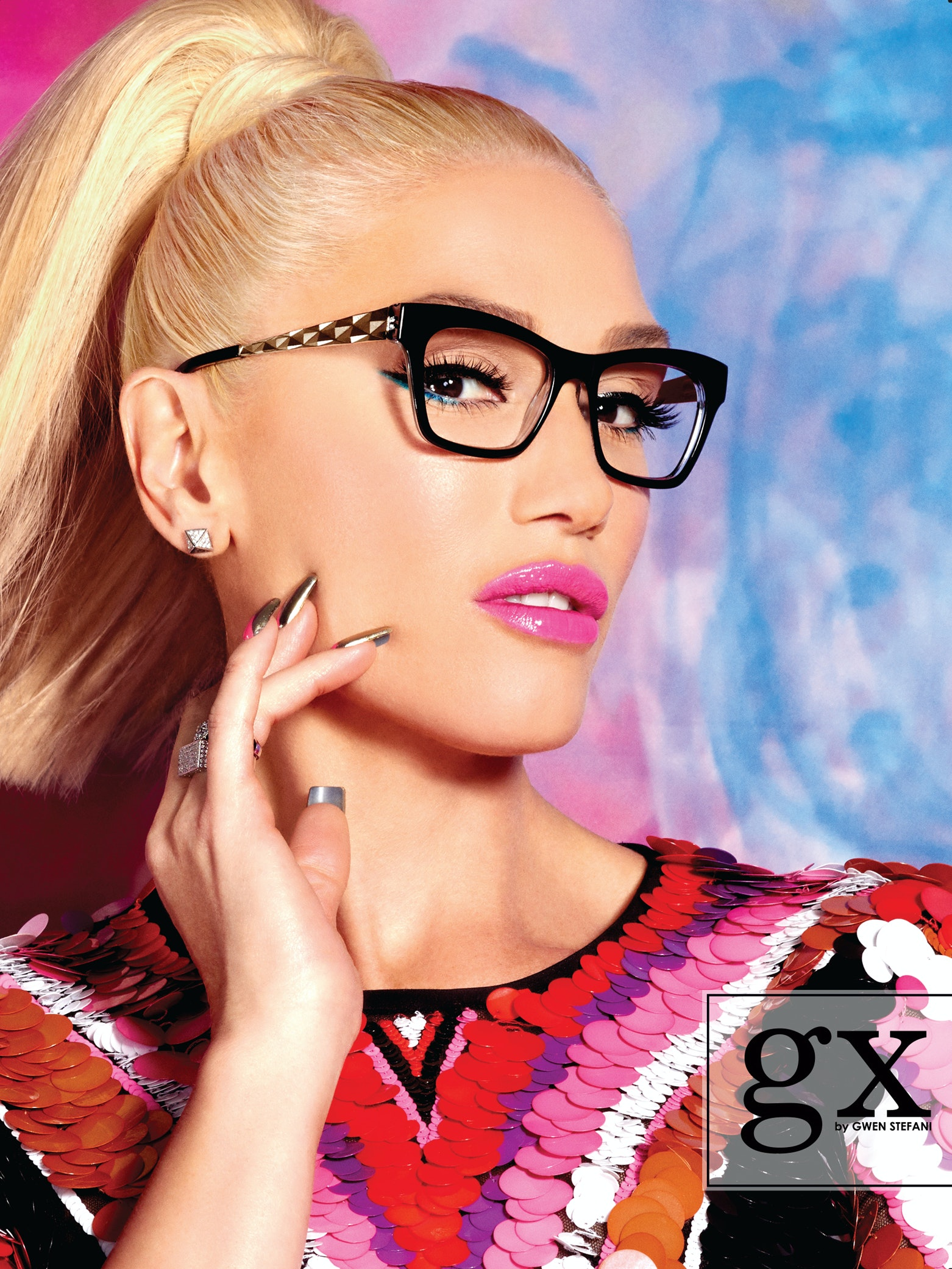 c607f2967c Gwen Stefani s Eyewear Collection Is Inspired By The Glasses She s Always  Wanted To Wear