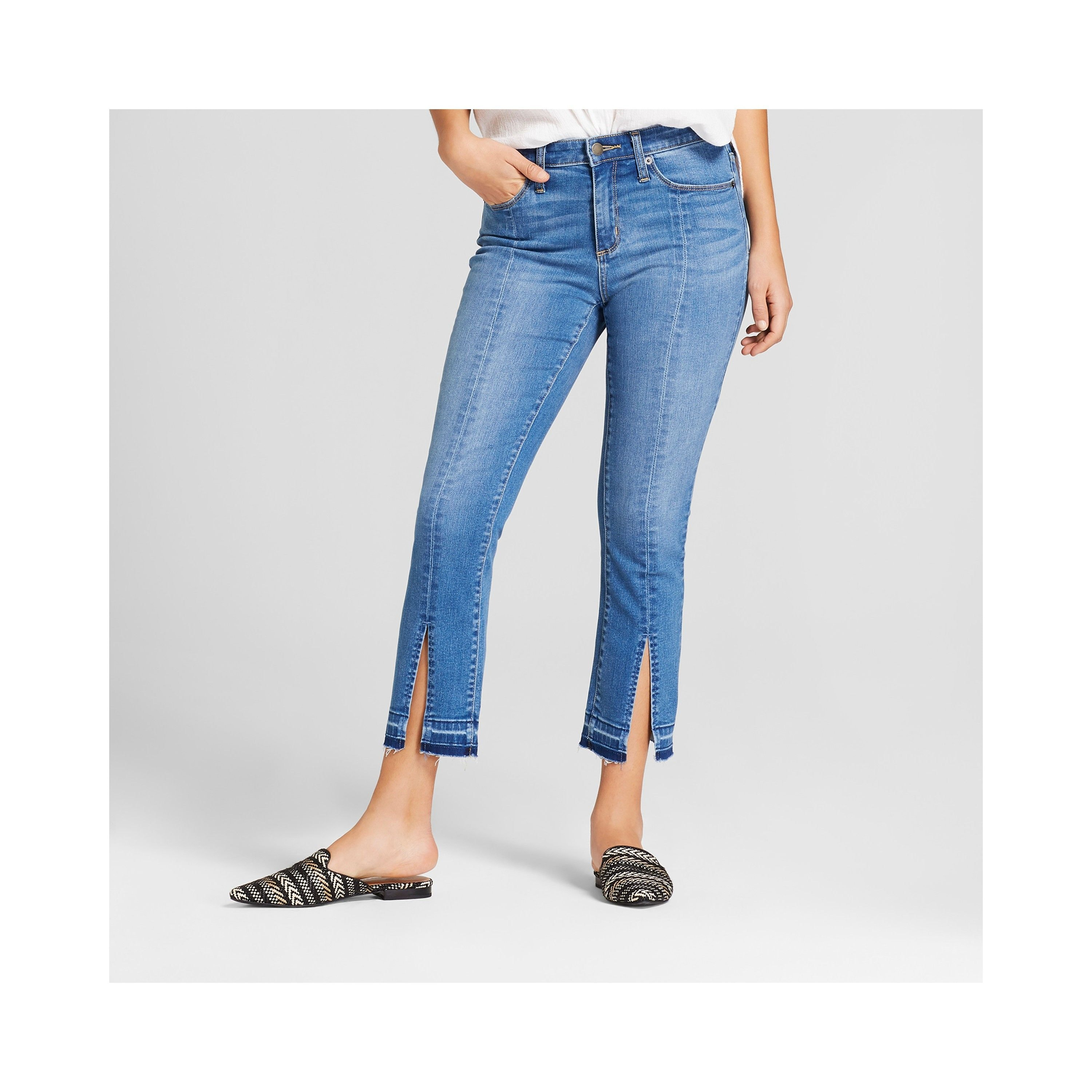 5df7cef787240 This Is What Target's Universal Thread Denim Looks Like On 15 Different  Body Types