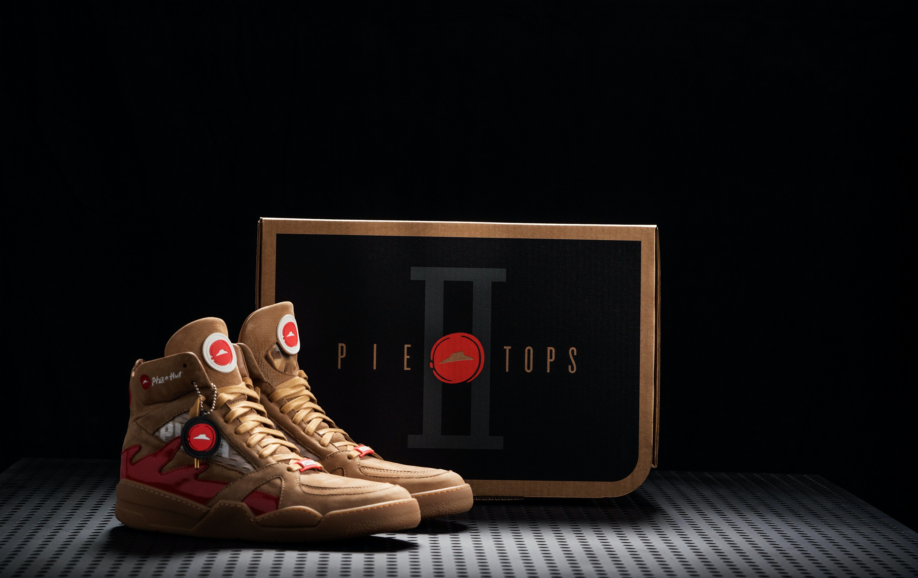 701c90c94698d Can You Buy Pizza Hut Pie Top Sneakers? These Delish Kicks Are The Real Deal