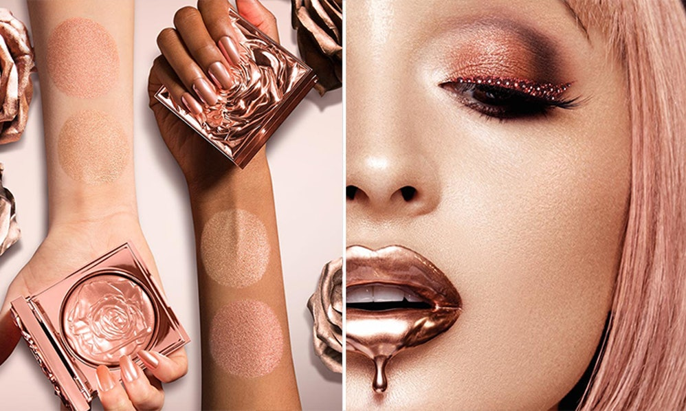 The New Smashbox Petal Metal Collection Is What Rose Gold Makeup Dreams Are Made Of