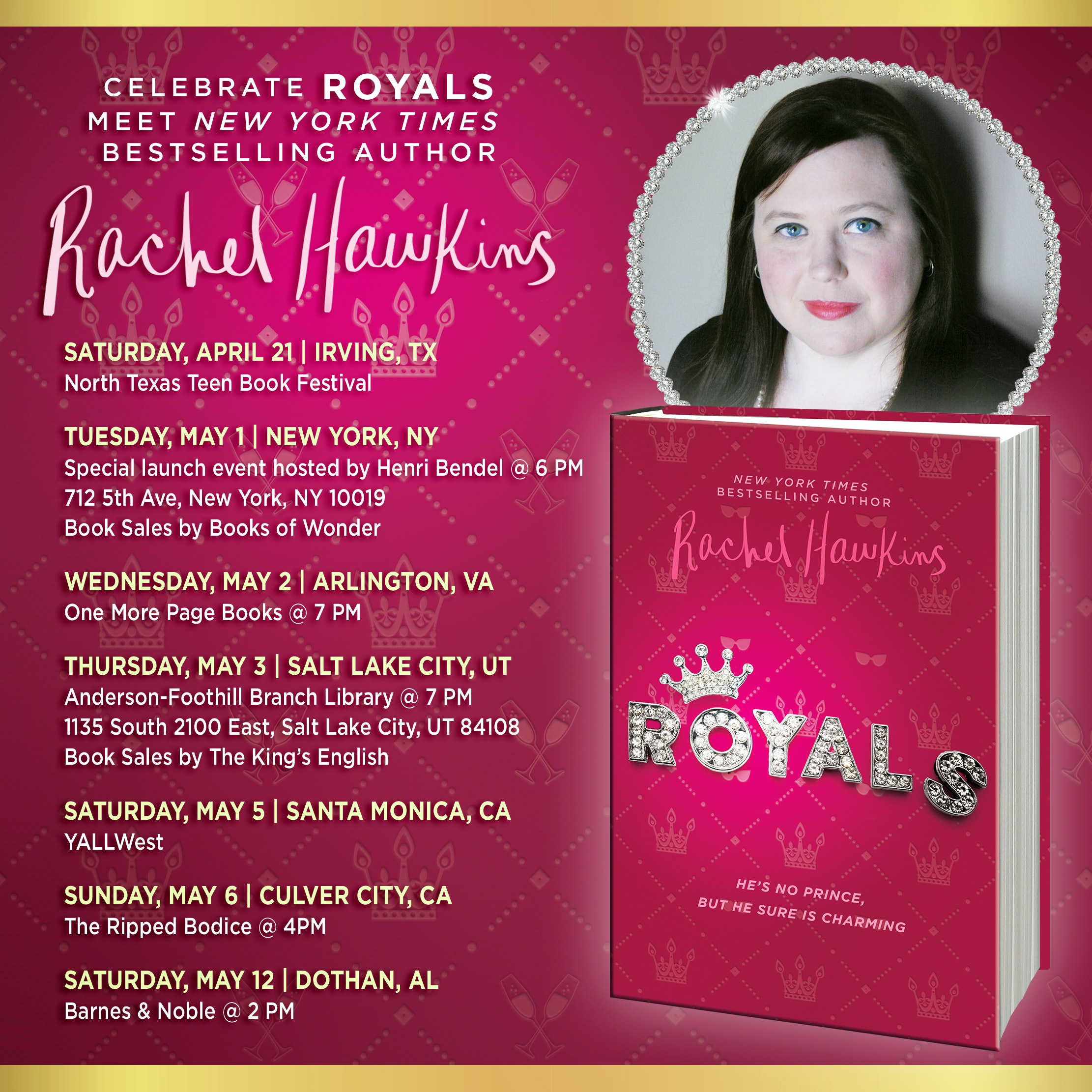 Royals' by Rachel Hawkins Is The New YA Book You Need To